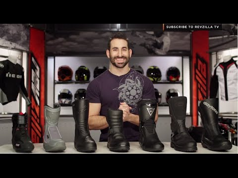 2014 Touring & Commuter Motorcycle Boots Buying Guide at RevZilla ...