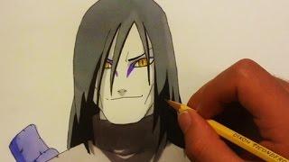 Drawing Orochimaru 大蛇丸