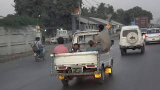 Samochodem po Karaczi - listopad 2017