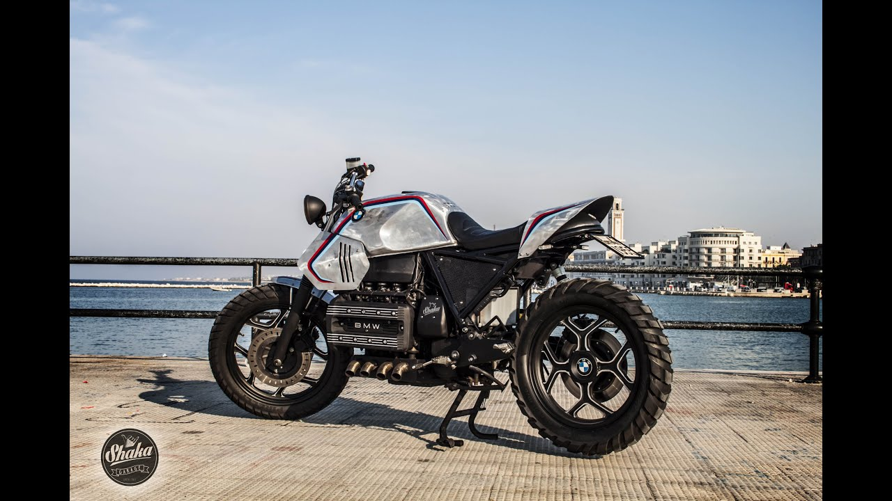 bmw caf racer brat scrambler k100 prima accensione by. Black Bedroom Furniture Sets. Home Design Ideas