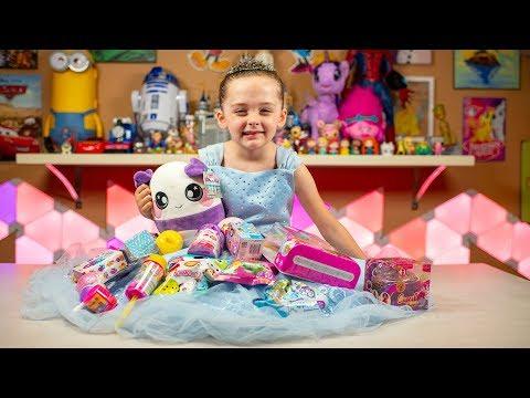 Cinderella Signature Dress Disney Princess Surprise Eggs Blind Bags Toys for Girls Kinder Playtime