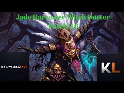 Jade Harvester Witch Doctor for Patch 2.6