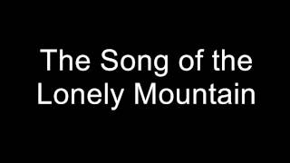 the song of the lonely mountain