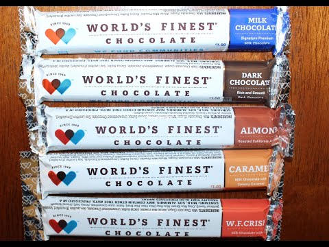 World's Finest Chocolate: Milk Chocolate, Dark Chocolate, Almond, Caramel & W.F. Crisp Review