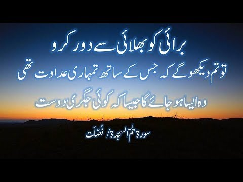 Very Beautiful Quran Tilawat with Urdu Translation Surah Fussilat Ha-Mim As-Sajdah
