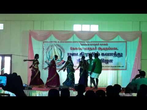 P.Manimaran (SI) @ Kavingar Gnanasiththan Dance For Pothuvaga En Manasu Thangam Song