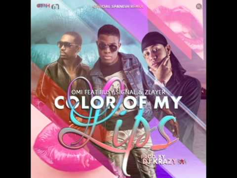 OMI ft. Busy Signal & Zlayer - Color Of My Lips (Spanish Remix)