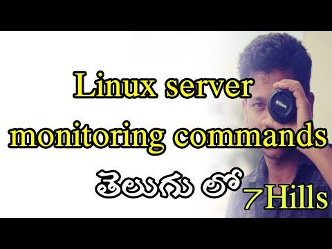 linux-server-monitoring-commands-in-telugu-|-linux-in-telugu-|-nagios