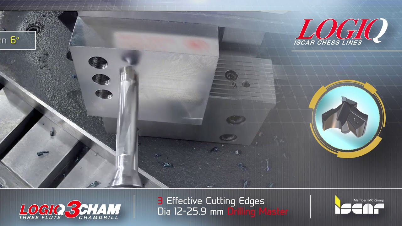Increasing Productivity in Drilling Holes in Steel