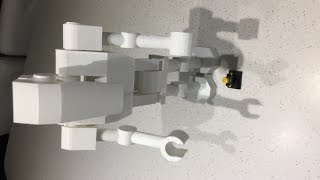 "Lego Star Wars 15"" Huge Giant battle_droid 3d Printed"