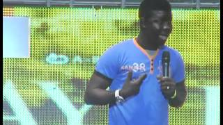 Ay Live Concert - Seyilaw On Stage At The Lagos Invasion 2011