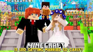 LITTLE LEO GETS MARRIED TO LITTLE CARLY!! Minecraft Custom Roleplay | w/LittleKelly |