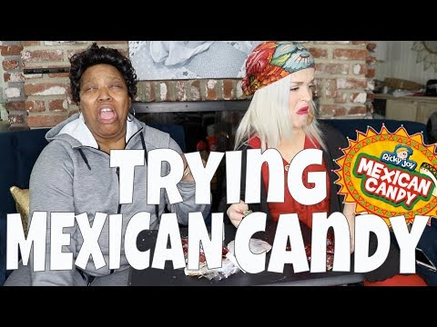 TRYING MEXICAN CANDY! : VLOG 129