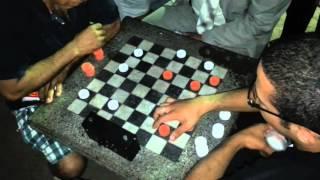 Jogo de damas - Vinícius (Campeão Brasileiro) x Waldir- Jogo 2