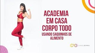 🔴Exercício pro corpo todo - Academia em casa- Carol Borba