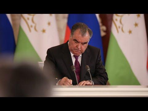 Рахмон обсудил стратегию развития Таджикистана с делегацией МФК