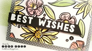 ctmh edition layered stamping with the misti