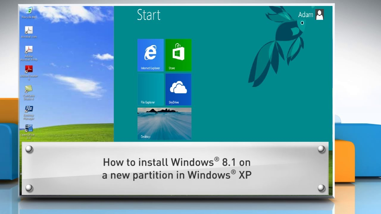 how to make partition in windows 8