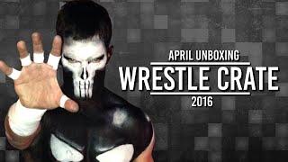 wrestlecrate unboxing april 2016