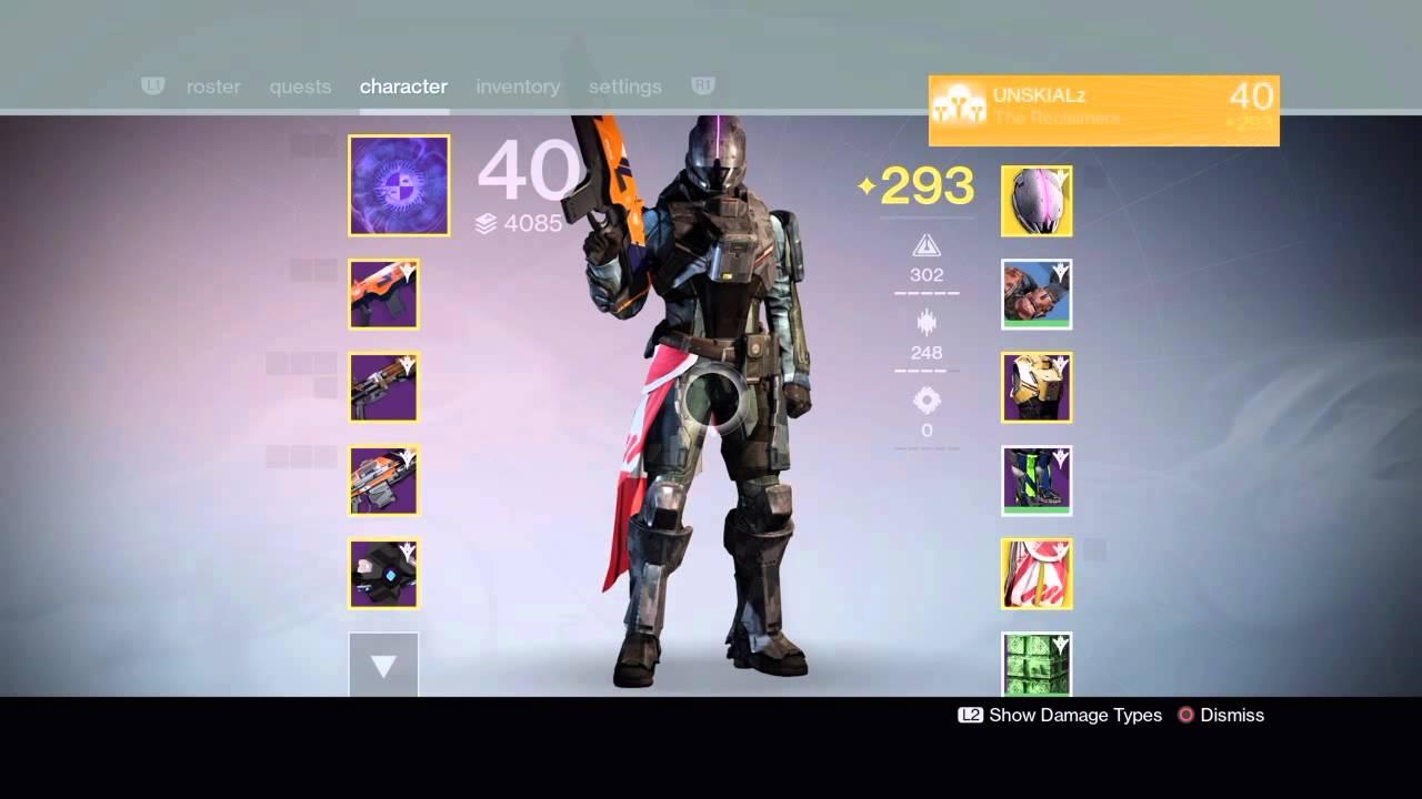 Destiny new monarchy exotic spawn effect faction class item