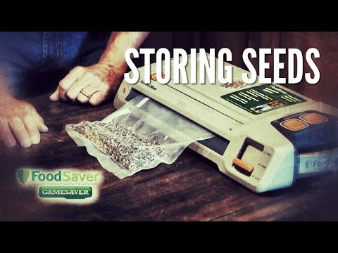Long-term Storage of Seeds