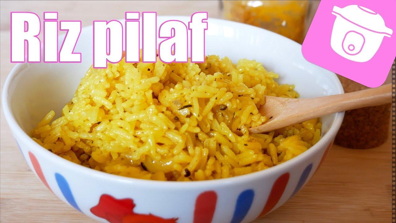 riz pilaf facile et rapide cookeo