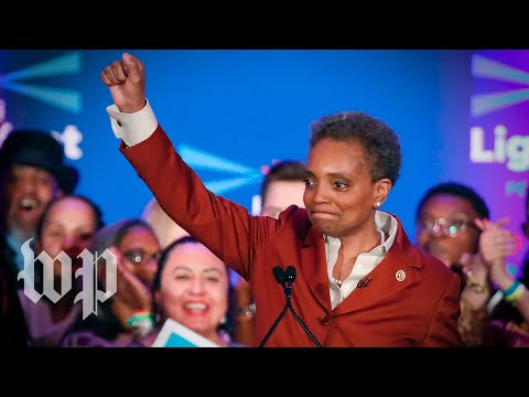 Lori Lightfoot's mayoral victory is full of firsts