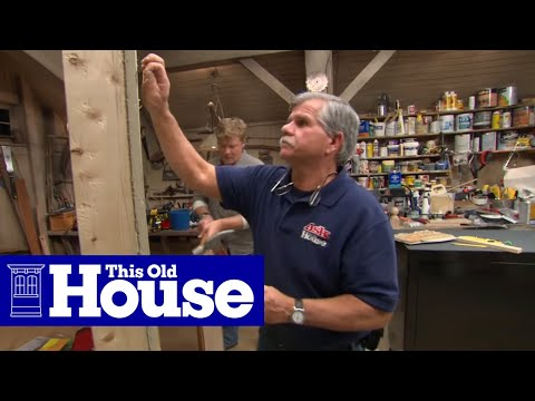 How to Hang a Heavy Mirror - This Old House