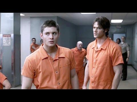 Сэм и Дин в Тюрьме | Сверхъестественное, Supernatural
