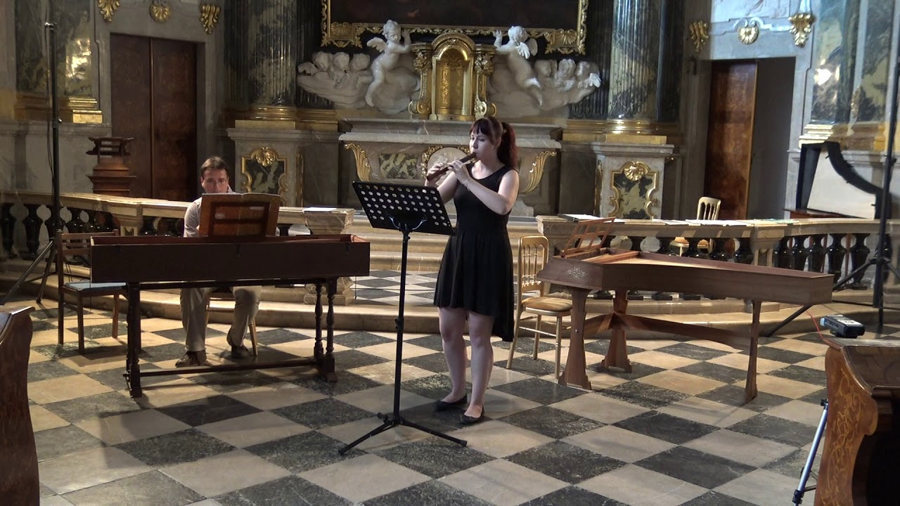 D. Castello: Sonata prima | Alžběta Chlubnová - recorder | MLŠSH Valtice 2018