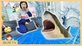 상어의 집에서 탈출하라 ♥ 아기상어 구출하기 방탈출 Pretend Play Room Escape [애니한TV]