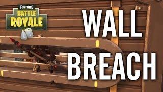 Fortnite - Dusty Divot Wall Breach Glitch