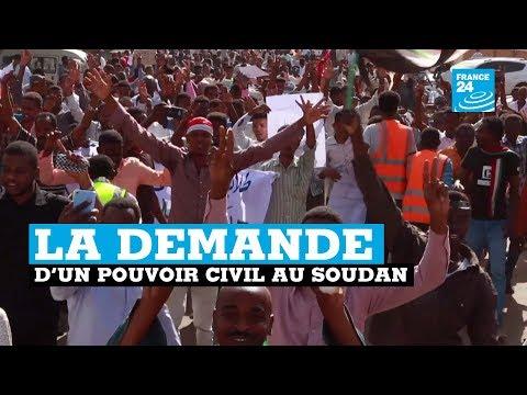 Une foule immense déferle à Khartoum pour réclamer un pouvoir civil au Soudan