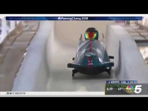 Texas Bobsledder On Track For Winter Olympics