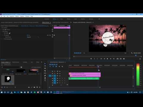How to Fade-In and Fade-out on Adobe Premiere Pro CC 2017