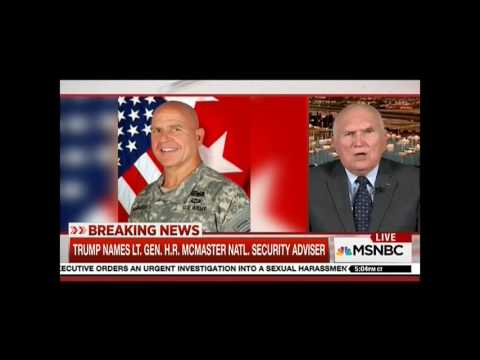 Ret Major General Scales Praises Choice Of McMaster For National Security Advisor