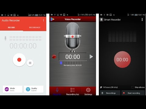 [ Hindi ] BEST TOP 3 VOICE RECORDERS FOR ANDROID PHONE 📱(THE BEST RECORDING APPS EVER)  🔴