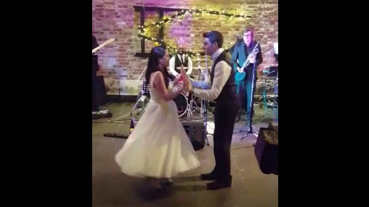 Surprise First Dance Frank Sinatra Strangers In The Night Into Paolo Nutini Pencil Full Of Lead