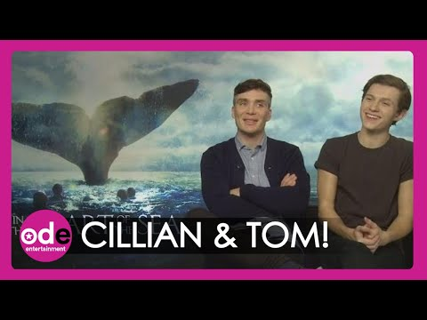 Tom Holland and Cillian Murphy on being covered with KY Jelly for In the Heart of the Sea