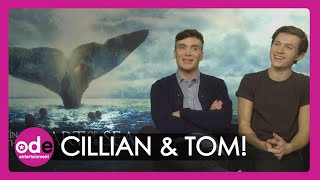Tom Holland and Cillian Murphy on being covered with K-Y Jelly for In the Heart of the Sea