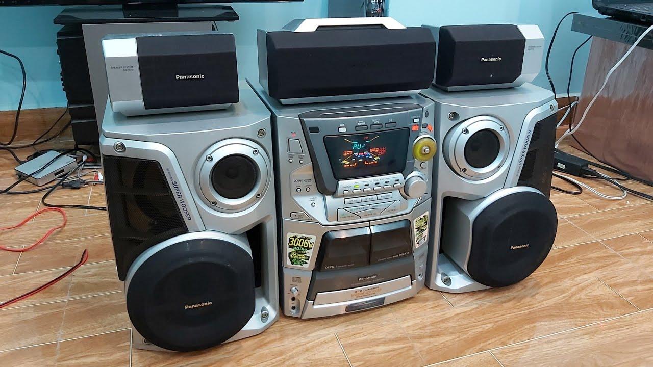 Panasonic AK177 CS 3000W âm thamh 5.1 nghe nhạc xem phim karaoke đều hay 0938484360 0939924007
