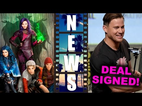 Disney's The Descendants Movie Review, Channing Tatum signs for Gambit 2016 - Beyond The Trailer