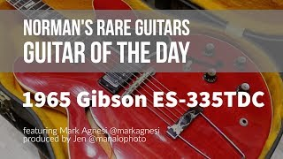 Norman's Rare Guitars - Guitar of the Day: 1965 Gibson ES-335TDC