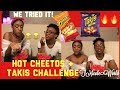 Hot Cheetos & Takis Challenge 🔥😵