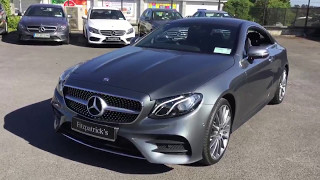 The New E-Class Coupé has arrived at Fitzpatrick