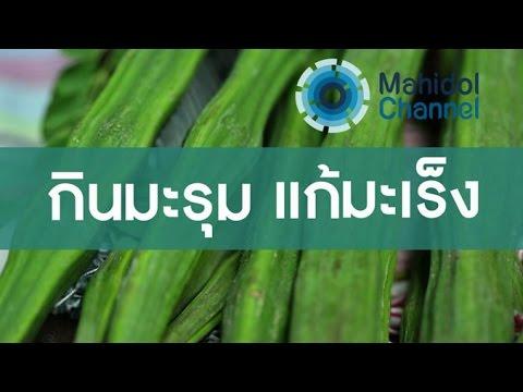 คลิป MU [by Mahidol] กินมะรุม แก้มะเร็ง