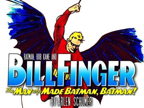 """Batman & Bill Finger"" lecture by Arlen Schumer"