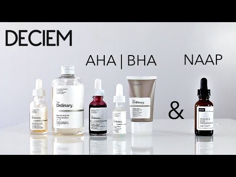 Deciem The Ordinary AHA | BHA & NIOD NAAP Review!