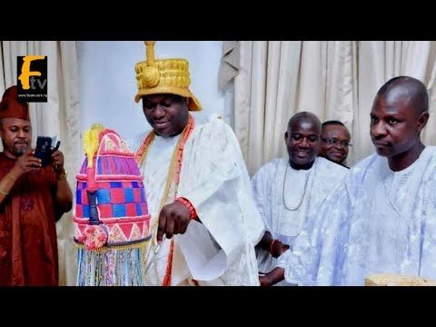 HAPPY 44TH BIRTHDAY OBA ADEYEYE OGUNWUSI OONI OF IFE THE MOST HANDSOME KING IN NIGERIA
