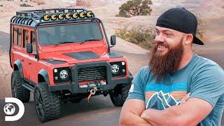 Cambio de volante para una Land Rover con espíritu americano | Diesel Dave | Discovery Latinoamérica